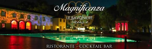 Dinner and New Year's party 2017 at Le Pavoniere in Florence