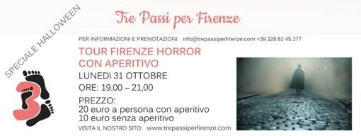 Halloween Tour - Florence Horror with aperitif