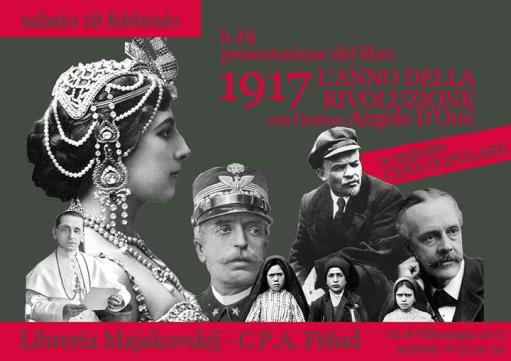 """Presentation of """"1917 The Year of Revolution"""""""