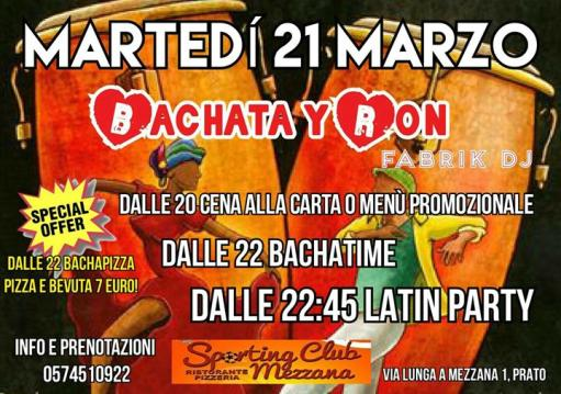 Bachata Y Ron Winter Latin Party