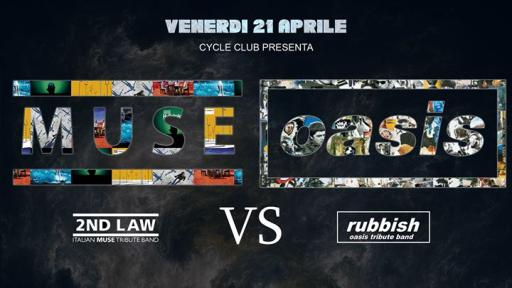 Muse VS Oasis / 2nd Law VS Rubbish