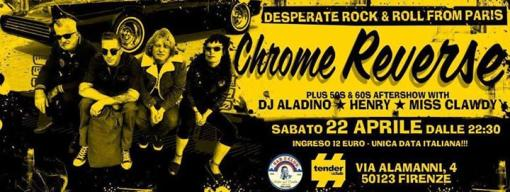 Rollin and Tumblin // Chrome Reverse live + Djset - Tender:club