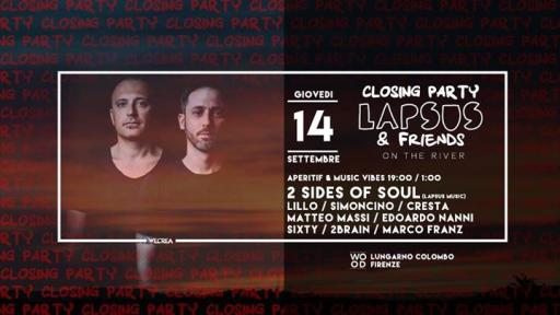 Closing Party - Lapsus & Friends