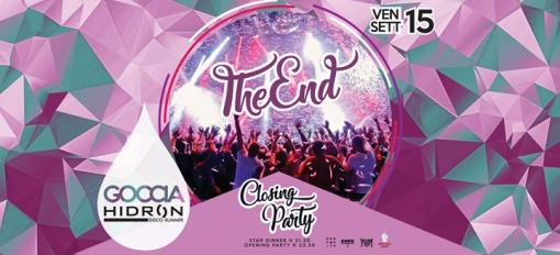 Closing party / Drop on Friday Hidron