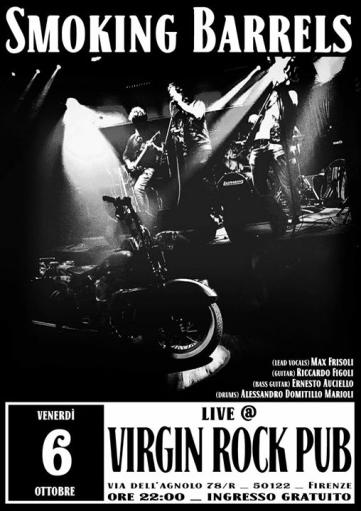 Smoking Barrels Live
