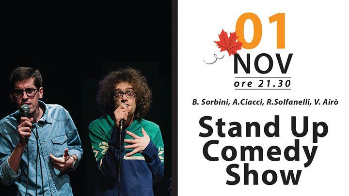 Sungard Exhibition Stand Up Comedy : Onstageteatro stand up comedy show officina giovani