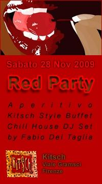 RED PARTY @ Kitsch by firenzenotte e ToPhrase
