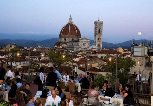 Terrazza Brunelleschi Panoramic Restaurant Roof Garden