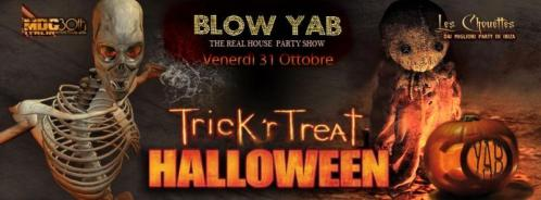Halloween Night allo Yab Disco Club