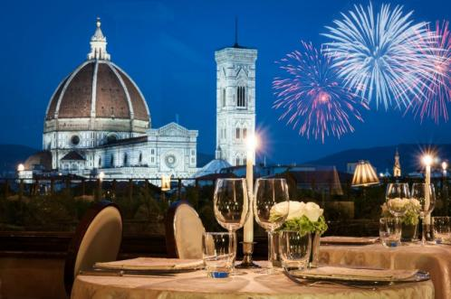 New Year's Eve at the Terrazza Brunelleschi