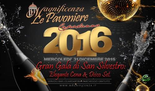 Gala New Year's Eve in Villa Le Pavoniere