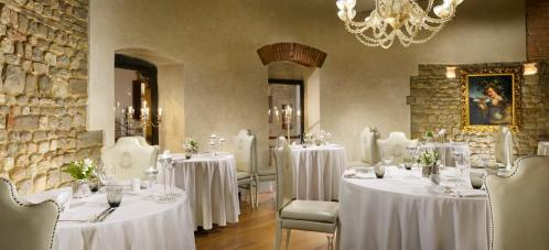 New Year's Eve of 31 December 2017 at the Hotel Brunelleschi in the center of Florence