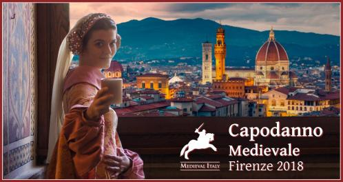 Medieval New Year's Eve 2018 at Antico Spedale del Bigallo in Florence