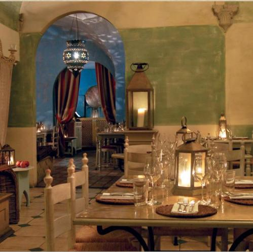 New Year's Eve dinner at the Finisterrae restaurant in the historic center of Florence