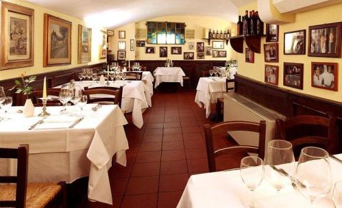 New Year's Eve 2018 at the Buca San Giovanni restaurant in the historic center of Florence