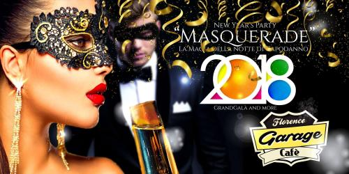 """New Year's Eve """"Masquerade"""" party at Florence Garage Cafè"""