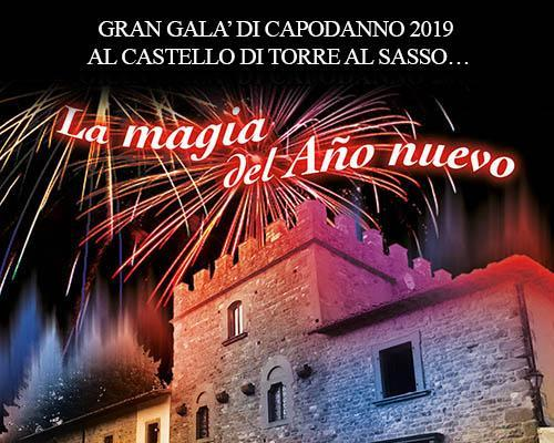 New Year's Eve Gala 2019 at the Castle of Torre al Sasso