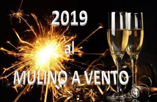 New Year's Eve 2019 at the Mulino a Vento Restaurant in Pontassieve