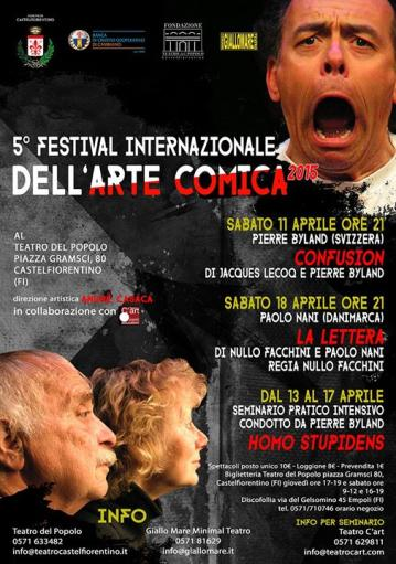 5 ° INTERNATIONAL FESTIVAL OF ART COMIC: is quality theater
