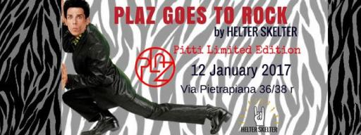 Plaz goes to Rock with Helter Skelter - Pitti Limited Edition