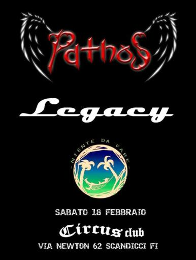 Pathos, Legacy, Nothing to do live!