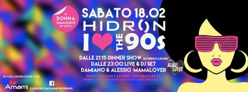 Saturday Hidron - I Love 90s PARTY - Women Tribute