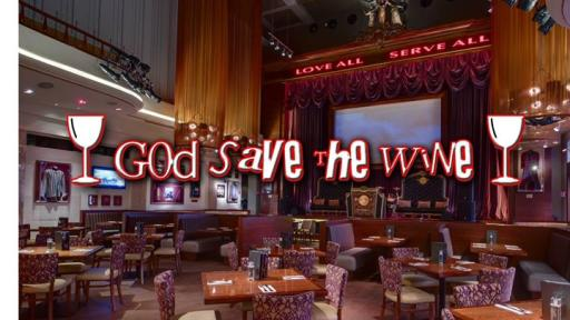God Save The Wine at Hard Rock Cafe Firenze!