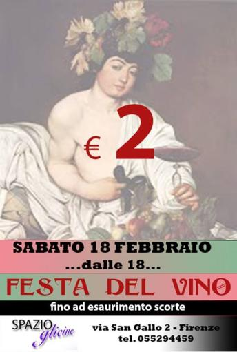 Wine Festival at 2 euro while stocks last
