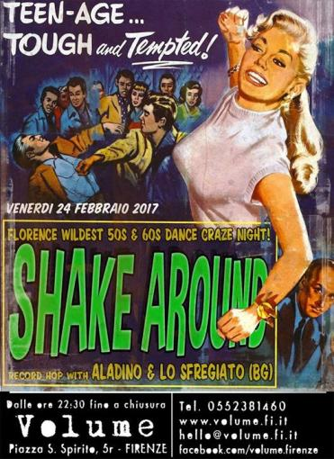 Shake Around Night!