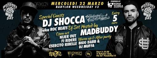 Babylon WeednesDay #3- DJShocca aka Roc Beats + Madbuddy Hosting