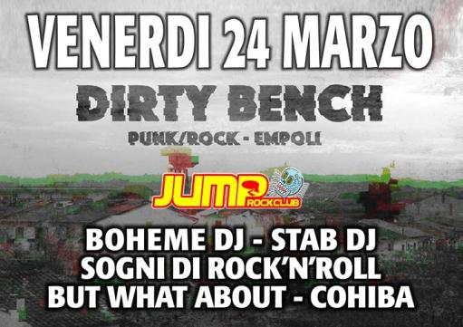 Palco live DIRTY BENCH