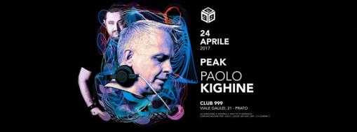 Extra Date w/ special guest Paolo Kighine + Peak