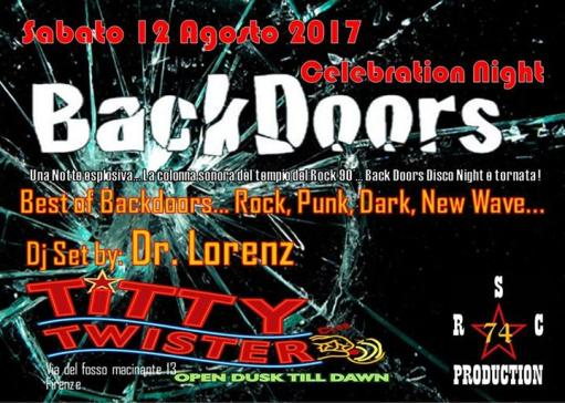 Back Doors Night Celebration