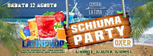 Schiuma PARTY - sabato latinphop