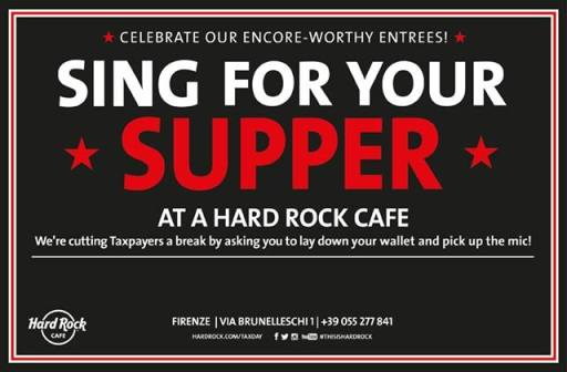 Sing For Your Supper - Sing It To Us!