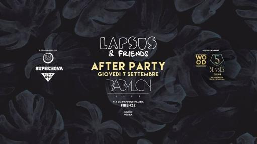 LAPS & Friends AFTER PARTY