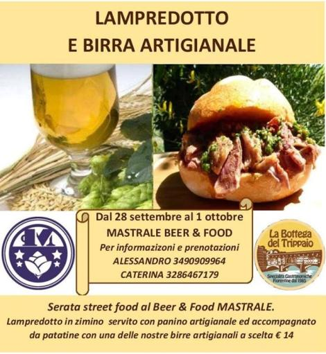 Lampredotto and Artisan Beer