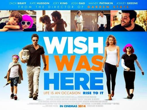 Cineforum - WISH I WAS HERE - Returns the aperice