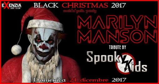 Black Christmas 2017 : Rock'n'Goth Party - Live : Spooky Kids