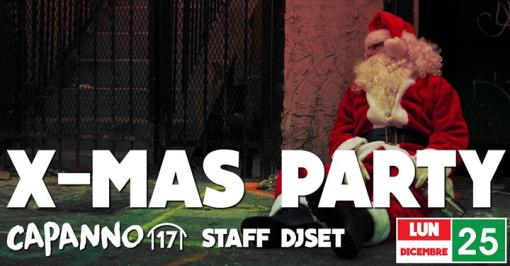 X-MAS Party with Capanna Djset Staff