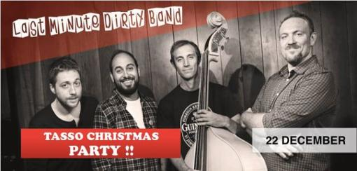 The Tasso Hostel Christmas Party with The Last Minute Dirty BAND