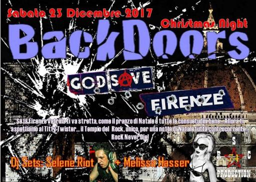 Back Doors Christmas Night