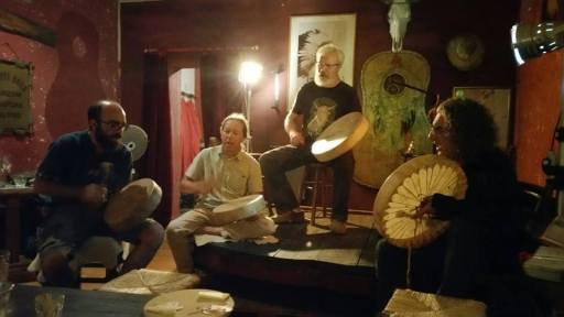 Serata speciale con i Sacred Drums