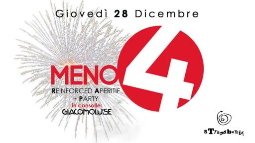 MENO Quattro - Reinforced aperitif + party