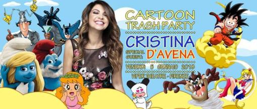 Cartoon Party ★ Cristina D'Avena ★ Back to the 90s boys + Dj Set