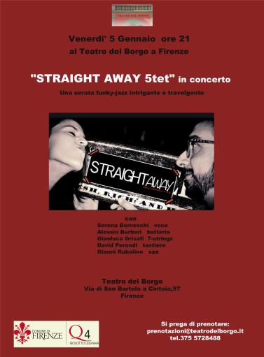 Straight away 5tet funky-jazz concert