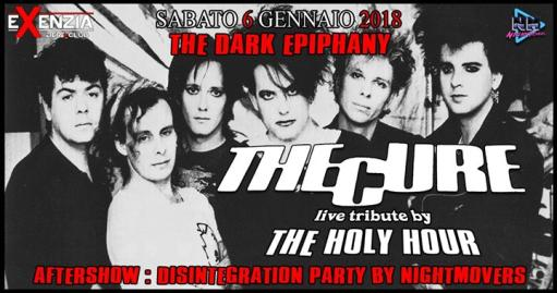 The Dark Epiphany: The Cure tribute + Disintegration Party