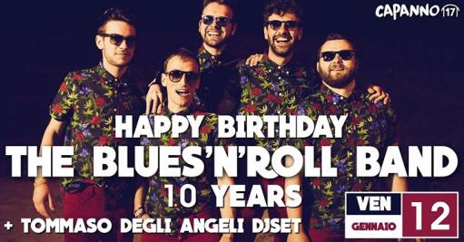 Happy Birthday The Blues'n'roll Band 10 Years