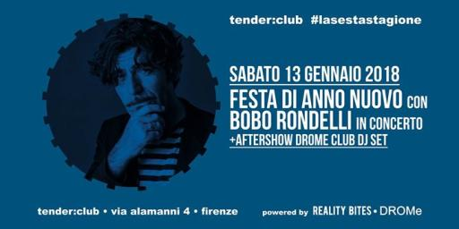 New Year's party with Bobo Rondelli in concert ● dinghy: club ● Florence