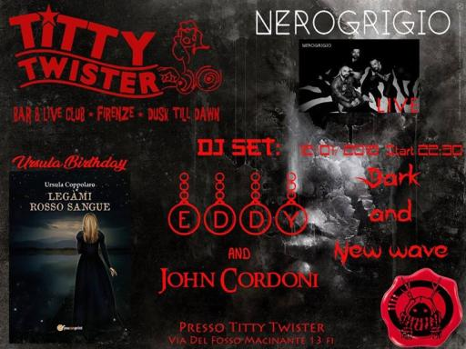 Dark and New Wave Night - Nerogrigio Live